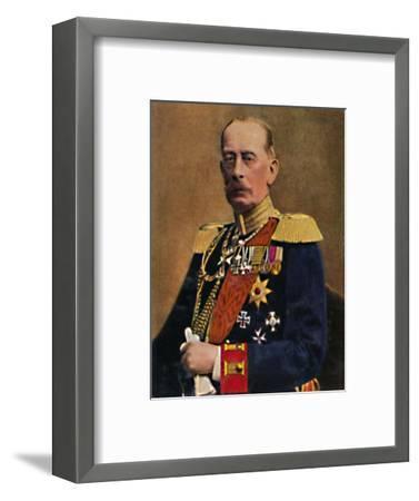 'Feldmarschall Graf Schlieffen', 1934-Unknown-Framed Giclee Print