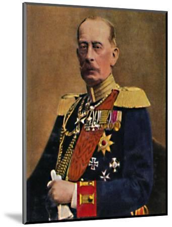 'Feldmarschall Graf Schlieffen', 1934-Unknown-Mounted Giclee Print