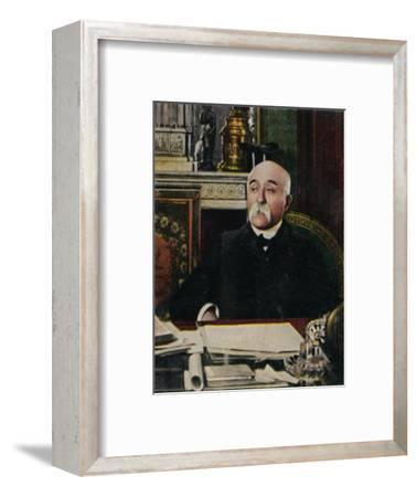 'Clemenceau 1841-1929', 1934-Unknown-Framed Giclee Print