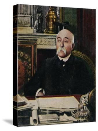 'Clemenceau 1841-1929', 1934-Unknown-Stretched Canvas Print