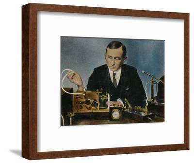 'Marconi - Geb. 1874', 1934-Unknown-Framed Giclee Print