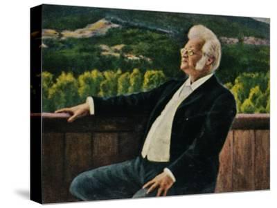 'Björnstjerne Björnson 1832-1910. - Gemälde von Erik Werenskiold', 1934-Unknown-Stretched Canvas Print