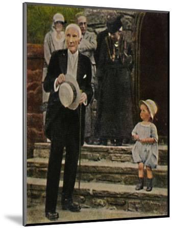'John Rockefeller - Geb. 1839', 1934-Unknown-Mounted Giclee Print