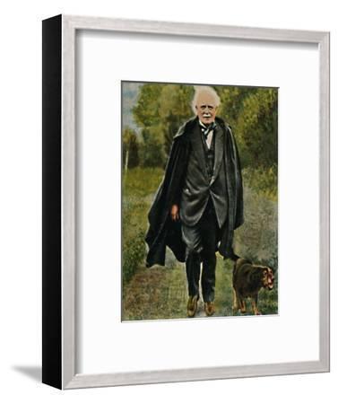 'Lloyd George - Geb. 1863', 1934-Unknown-Framed Giclee Print