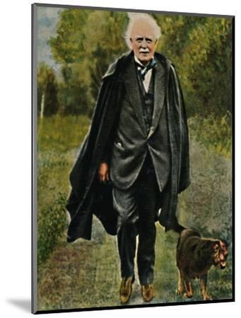 'Lloyd George - Geb. 1863', 1934-Unknown-Mounted Giclee Print