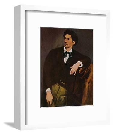 'Anselm Feuerbach 1829-1880 - Selbstbildnis', 1934-Unknown-Framed Giclee Print