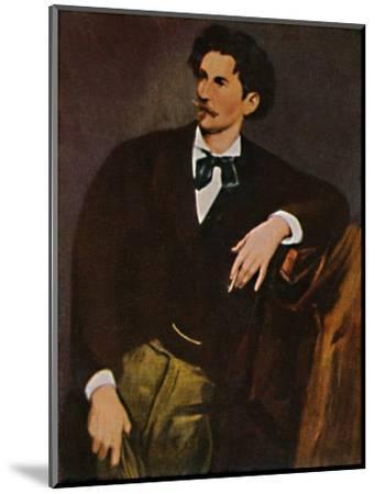 'Anselm Feuerbach 1829-1880 - Selbstbildnis', 1934-Unknown-Mounted Giclee Print