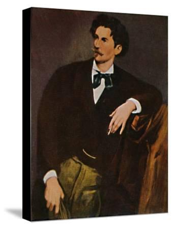 'Anselm Feuerbach 1829-1880 - Selbstbildnis', 1934-Unknown-Stretched Canvas Print