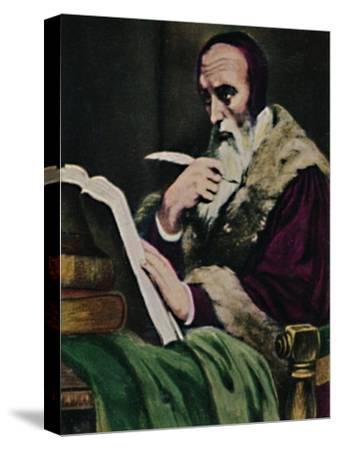 'Calvin 1509-1564. - Gemälde von Scheffer', 1934-Unknown-Stretched Canvas Print