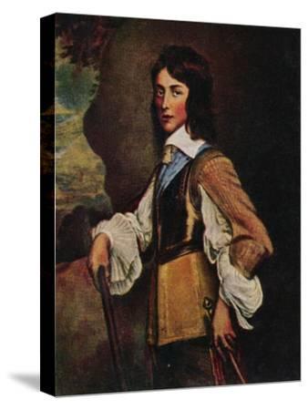 'Prinz Wilhelm II. V. Naffau=Oranien 1626-1650. - Gemälde von Hanemann', 1934-Unknown-Stretched Canvas Print