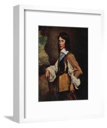 'Prinz Wilhelm II. V. Naffau=Oranien 1626-1650. - Gemälde von Hanemann', 1934-Unknown-Framed Giclee Print