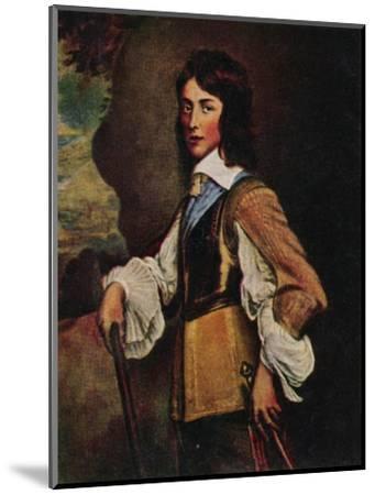 'Prinz Wilhelm II. V. Naffau=Oranien 1626-1650. - Gemälde von Hanemann', 1934-Unknown-Mounted Giclee Print