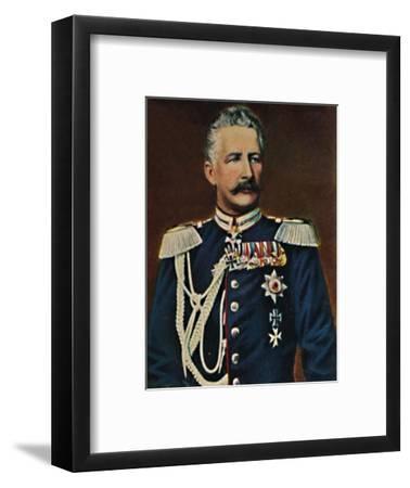 'Feldmarschall Graf von Waldersee 1832-1904', 1934-Unknown-Framed Giclee Print