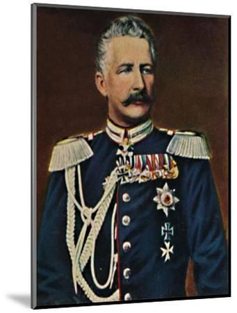 'Feldmarschall Graf von Waldersee 1832-1904', 1934-Unknown-Mounted Giclee Print