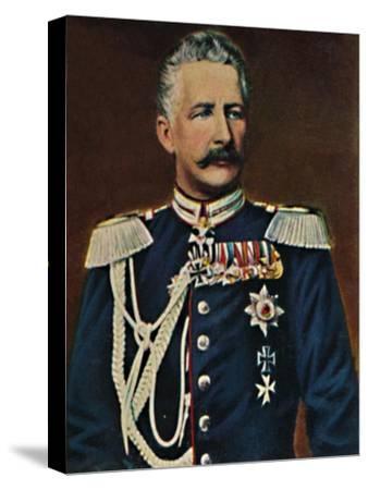 'Feldmarschall Graf von Waldersee 1832-1904', 1934-Unknown-Stretched Canvas Print