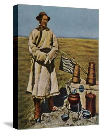 'Sven Hedin - Geb. 1865', 1934-Unknown-Stretched Canvas Print
