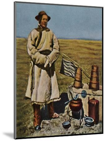 'Sven Hedin - Geb. 1865', 1934-Unknown-Mounted Giclee Print