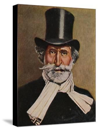 'Giuseppe Verdi 1813-1901. - Gemälde von Michel', 1934-Unknown-Stretched Canvas Print
