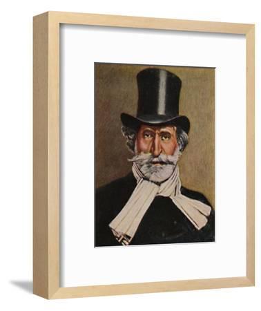 'Giuseppe Verdi 1813-1901. - Gemälde von Michel', 1934-Unknown-Framed Giclee Print