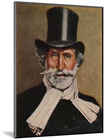'Giuseppe Verdi 1813-1901. - Gemälde von Michel', 1934-Unknown-Mounted Giclee Print