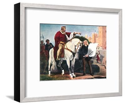 'Heinrich der Löwe', 1934-Unknown-Framed Giclee Print