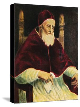 'Papst Julus II. 1443-1513', 1934-Unknown-Stretched Canvas Print