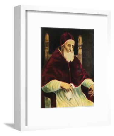 'Papst Julus II. 1443-1513', 1934-Unknown-Framed Giclee Print
