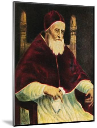 'Papst Julus II. 1443-1513', 1934-Unknown-Mounted Giclee Print