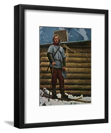 'Fridtjof Nansen 1861-1930', 1934-Unknown-Framed Giclee Print