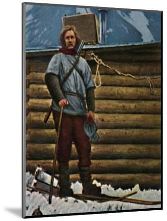 'Fridtjof Nansen 1861-1930', 1934-Unknown-Mounted Giclee Print