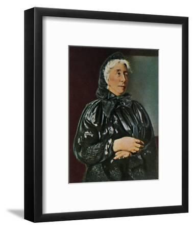 'Cosima Wagner 1837-1930', 1934-Unknown-Framed Giclee Print