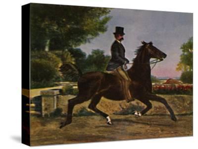 'Konig Humbert I. von Italien 1844-1900. - Gemälde von Palizzi', 1934-Unknown-Stretched Canvas Print