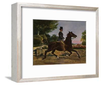 'Konig Humbert I. von Italien 1844-1900. - Gemälde von Palizzi', 1934-Unknown-Framed Giclee Print