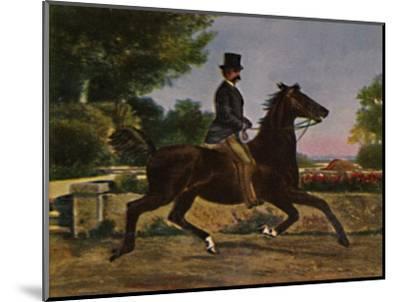 'Konig Humbert I. von Italien 1844-1900. - Gemälde von Palizzi', 1934-Unknown-Mounted Giclee Print