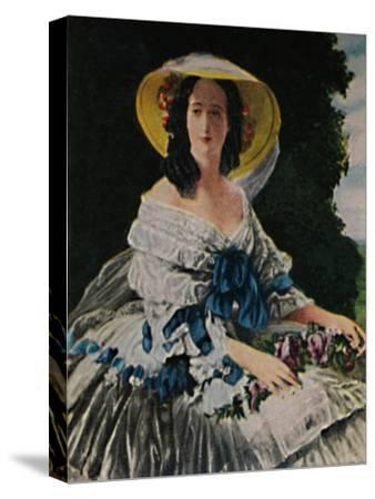 'Kaiserin Eugenie 1826-1920. - Gemälde von Winterhalter', 1934-Unknown-Stretched Canvas Print