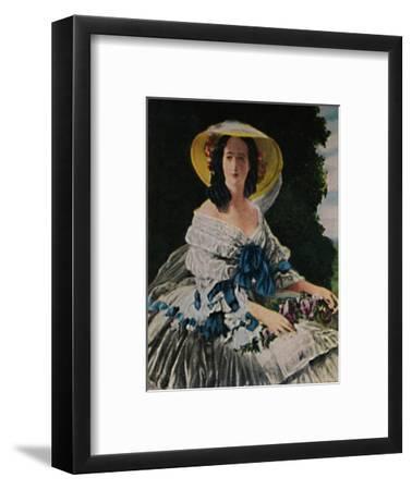 'Kaiserin Eugenie 1826-1920. - Gemälde von Winterhalter', 1934-Unknown-Framed Giclee Print