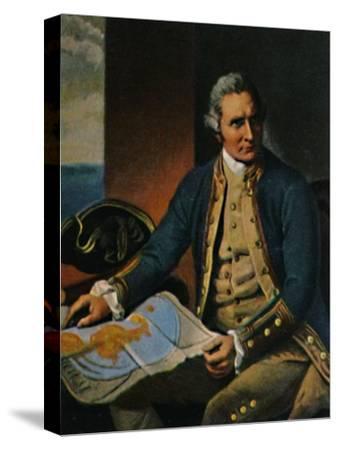 'James Cook 1728-1779. - Stich nach dem Gemälde von Dance', 1934-Unknown-Stretched Canvas Print