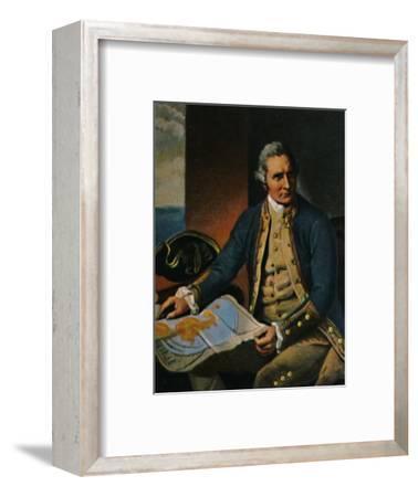 'James Cook 1728-1779. - Stich nach dem Gemälde von Dance', 1934-Unknown-Framed Giclee Print