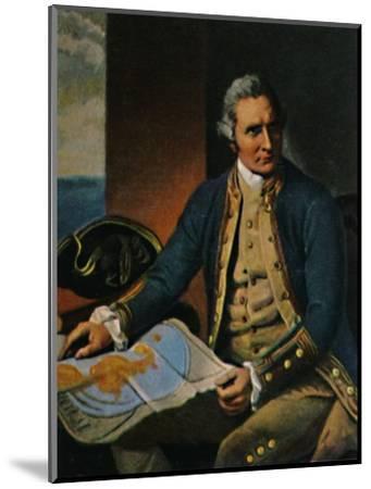 'James Cook 1728-1779. - Stich nach dem Gemälde von Dance', 1934-Unknown-Mounted Giclee Print