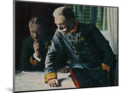 'Feldmarschall Conrad von Hotzen', 1934-Unknown-Mounted Giclee Print