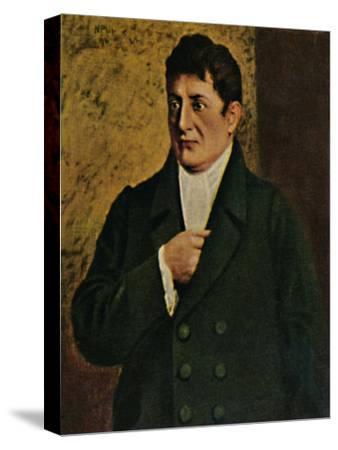 'Johann Gottlieb Fichte 1762-1814. - Gemälde von Professor Plühr', 1934-Unknown-Stretched Canvas Print