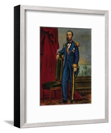'Kaiser Maximilian von Mexiko 1832-1867', 1934-Unknown-Framed Giclee Print