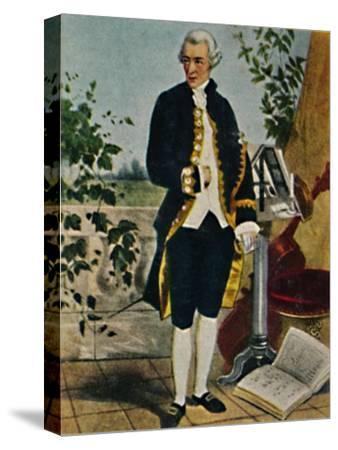 'Joseph Haydn 1732-1809. - Gemälde von Hammann', 1934-Unknown-Stretched Canvas Print