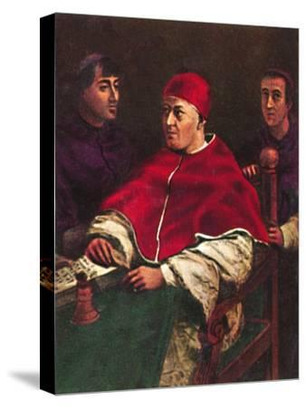 'Papst Leo X. 1475-1521', 1934-Unknown-Stretched Canvas Print