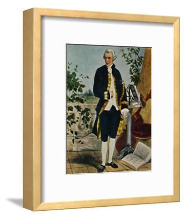 'Joseph Haydn 1732-1809. - Gemälde von Hammann', 1934-Unknown-Framed Giclee Print