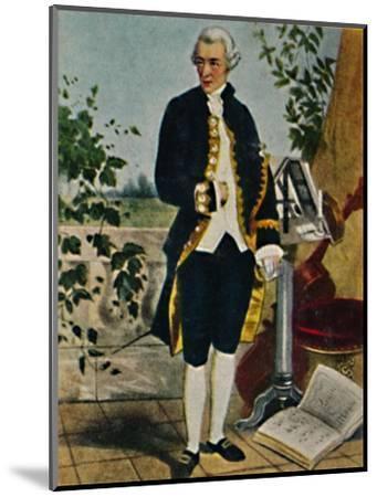 'Joseph Haydn 1732-1809. - Gemälde von Hammann', 1934-Unknown-Mounted Giclee Print