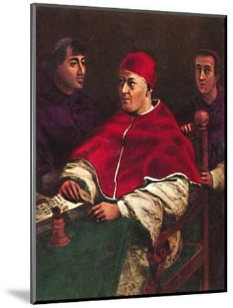 'Papst Leo X. 1475-1521', 1934-Unknown-Mounted Giclee Print