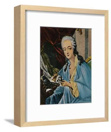 'Grafin Dubarry 1743-1793', 1934-Unknown-Framed Giclee Print