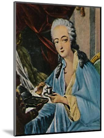 'Grafin Dubarry 1743-1793', 1934-Unknown-Mounted Giclee Print