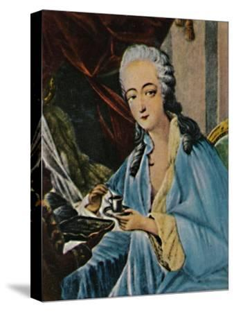 'Grafin Dubarry 1743-1793', 1934-Unknown-Stretched Canvas Print